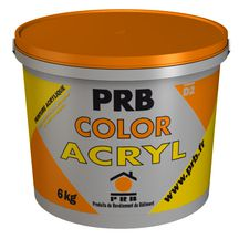 Enduit COLOR ACRYL blanc seau 6kg