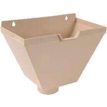 bo te eau pvc sable bao80s pour descendant rond 80 mm nicoll toiture charpente. Black Bedroom Furniture Sets. Home Design Ideas