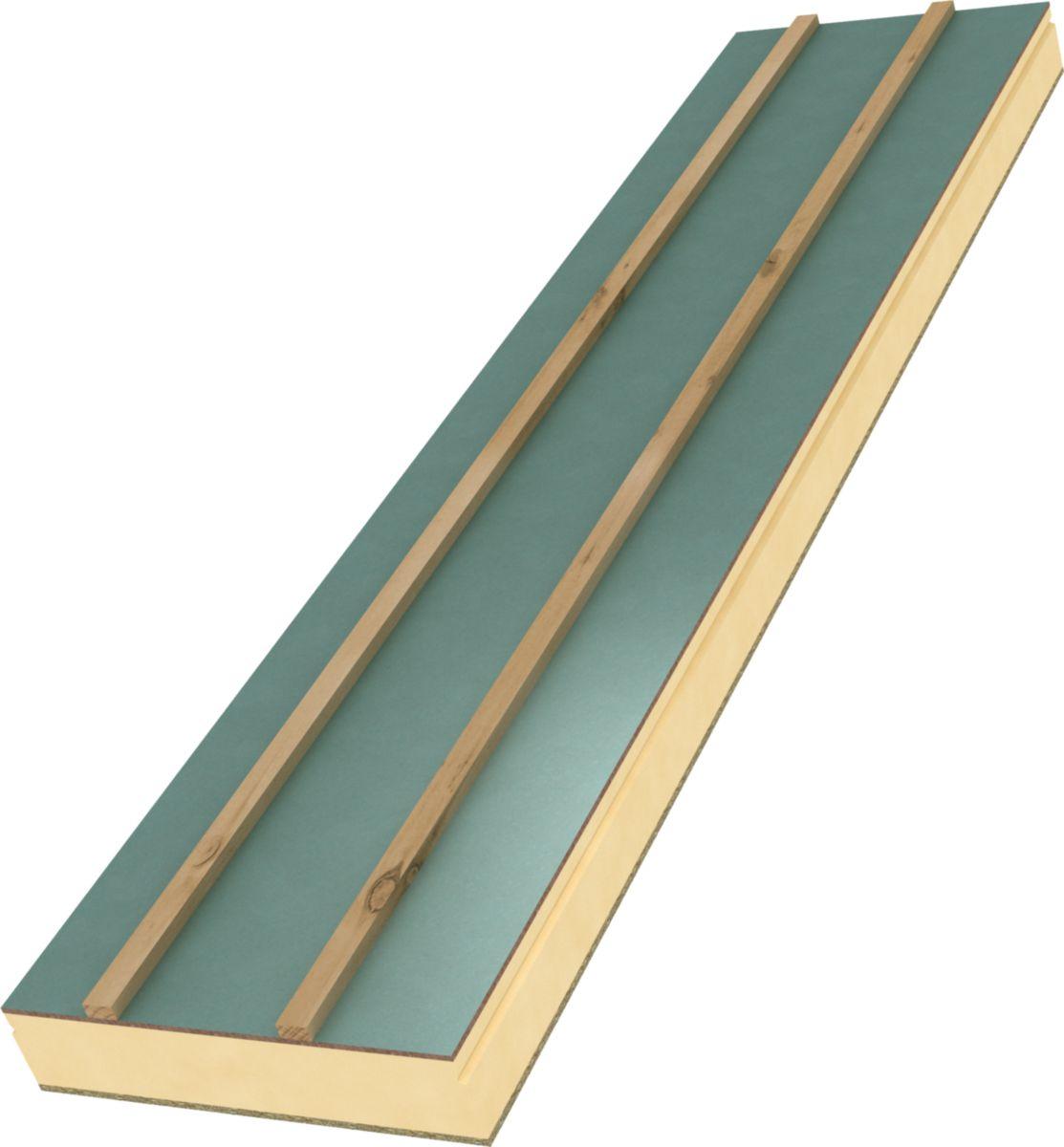 unilin insulation panneau sandwich isolant rexolight hpu l pl tre h 135 mm 0 6x3 6 m. Black Bedroom Furniture Sets. Home Design Ideas