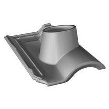 tuile douille gallo romane gl113 terre cuite silvacane littoral 440x280 mm 120 mm. Black Bedroom Furniture Sets. Home Design Ideas