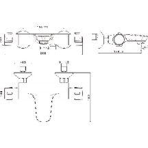 af0bd39af3bfb ALTERNA - Mitigeur thermostatique bain douche Conc | Point.P
