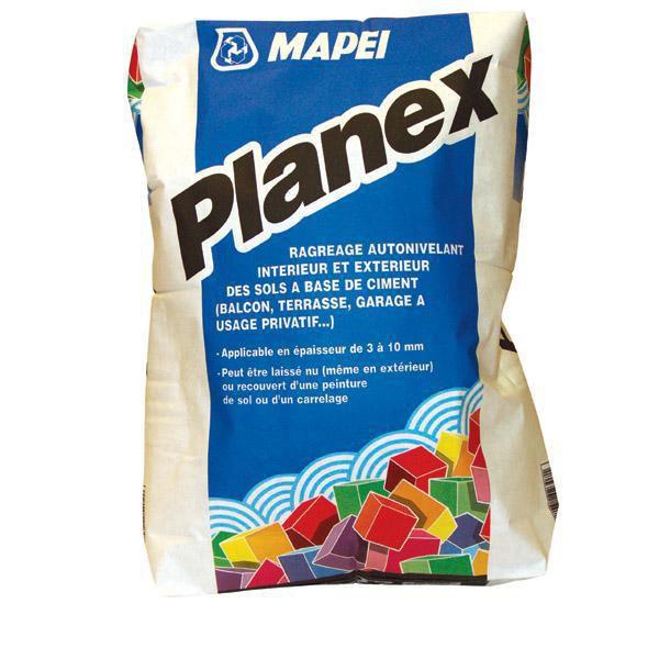 Ragréage Autonivelant Mapei Planex 013525 Intérieur Et Extérieur Sac De 25  Kg - MAPEI - Décoration Intérieure - Distributeur De Matériaux De  Construction ...