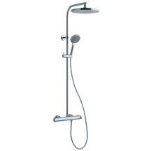 Colonne de douche plenitude avec mitigeur thermostatique chrom alterna electricit - Colonne de douche alterna ...
