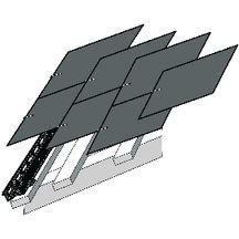 ventilation basse noire pour ardoises et tuiles plates dimos couverture distributeur de. Black Bedroom Furniture Sets. Home Design Ideas