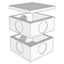 couvercle b ton rc60 pour regard b ton 60x60 cm p 6 cm legouez mat riaux bois gros. Black Bedroom Furniture Sets. Home Design Ideas