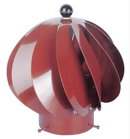 Sebico Extracteur Eolien Aspiromatic 100 Inox Brun Tuile O 100 Mm Point P
