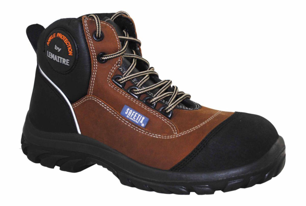 Chaussures de Sécurité BUILDER PRO Haute S3 , pointure 43. LEMAITRE