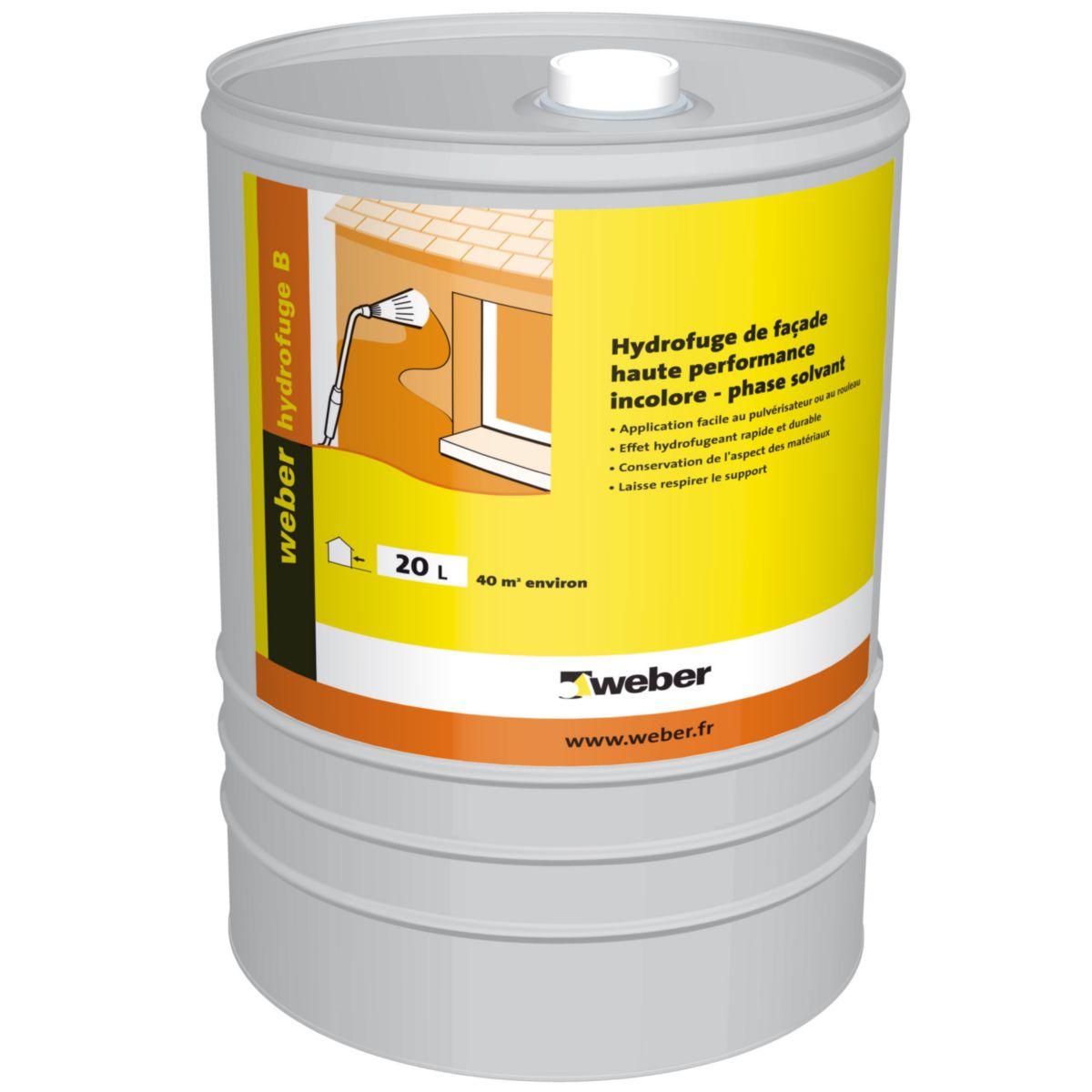 weber hydrofuge construction maison b ton arm. Black Bedroom Furniture Sets. Home Design Ideas
