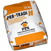 Enduit monocouche TRADICLAIR H fort de France sac 25kg