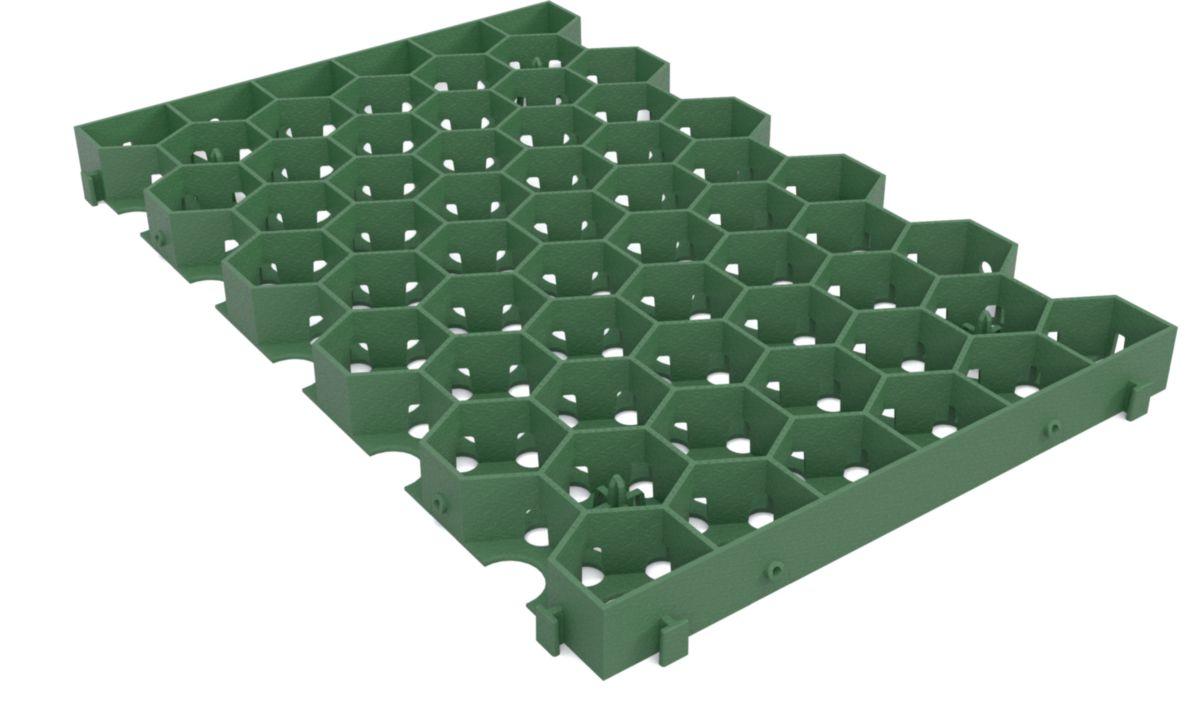jouplast dalle pvc pour consolidation de gazon greenplac. Black Bedroom Furniture Sets. Home Design Ideas