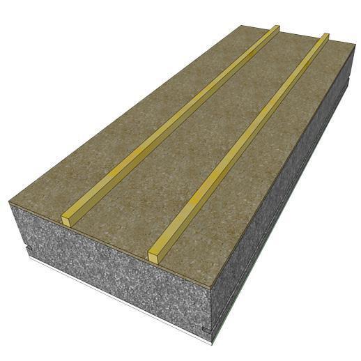 Panneau sandwich toiture amazing plaque imitation tuile for Panneau de toiture isolant