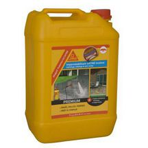 Hydro-oléofuge support minéral poreux Sikagard Protection Sol SATINE blanc / incolore - bidon 5 l