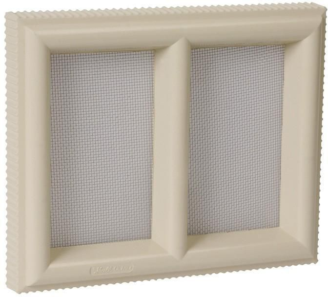 Grille Aération Claustra Pvc Sable Nicoll 220x180 Mm Nicoll