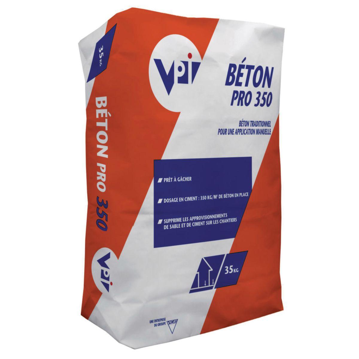 Bton drainant en sac awesome excellent mortier allg polys - Beton pret al emploi en sac ...