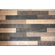 Lambris parement bois relief adh sif pin maritime sable - Parement bois 3d ...