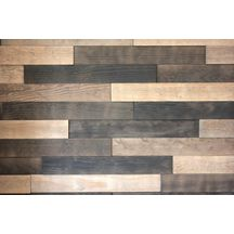 lambris parement bois relief adh sif pin maritime sable b ne 10 18x70x500 mm arte home. Black Bedroom Furniture Sets. Home Design Ideas