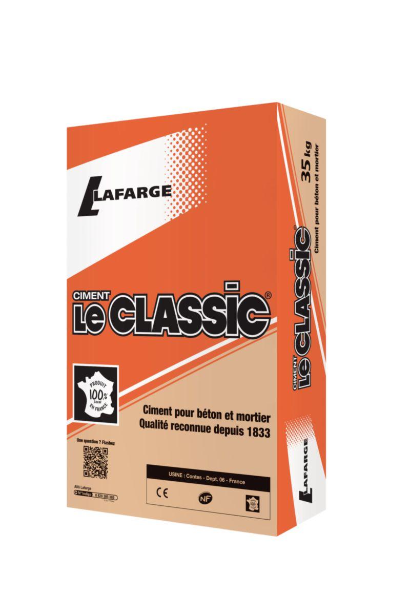 de oeuvre de NF LAFARGE bois 5 32 Distributeur R d'Azergues CIMENT Val CE CEM kg Classic matériaux gros LL de Le Matériaux sac IIB Ciment 35 14pqx