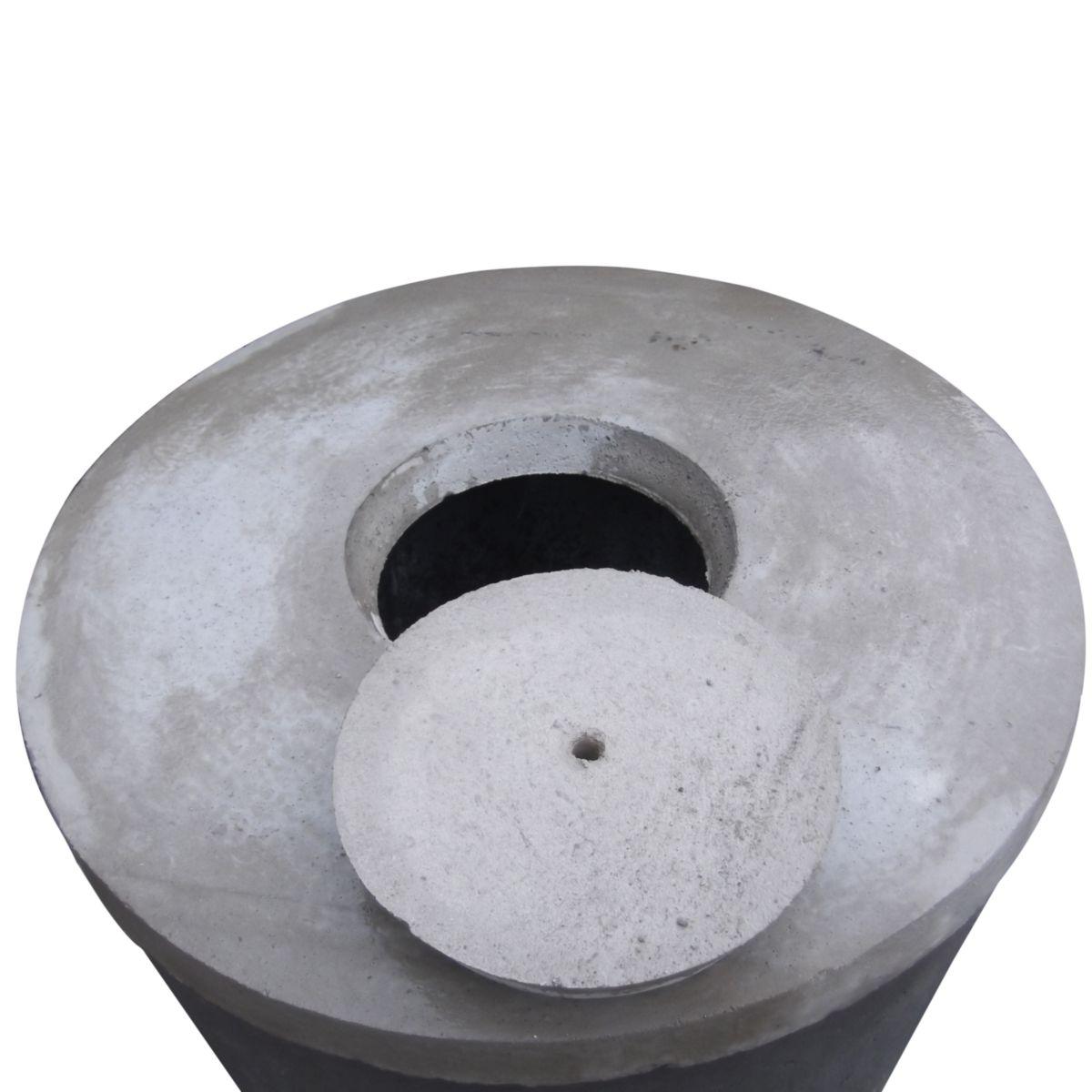tampon fosse septique affordable beton b branch couvercle. Black Bedroom Furniture Sets. Home Design Ideas