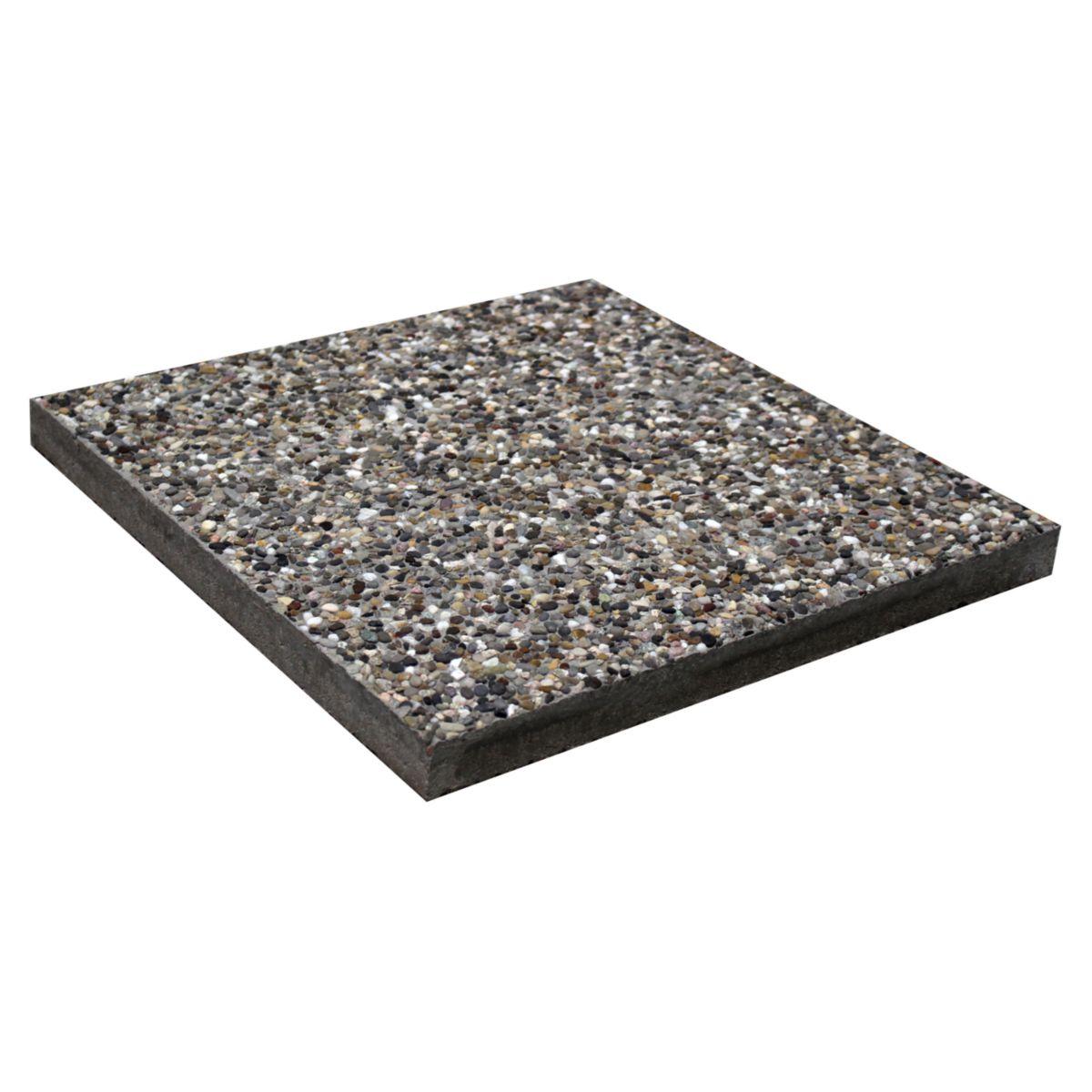 birkenmeier dalle gravillons lav s 4 8 rhin 50x50 cm. Black Bedroom Furniture Sets. Home Design Ideas