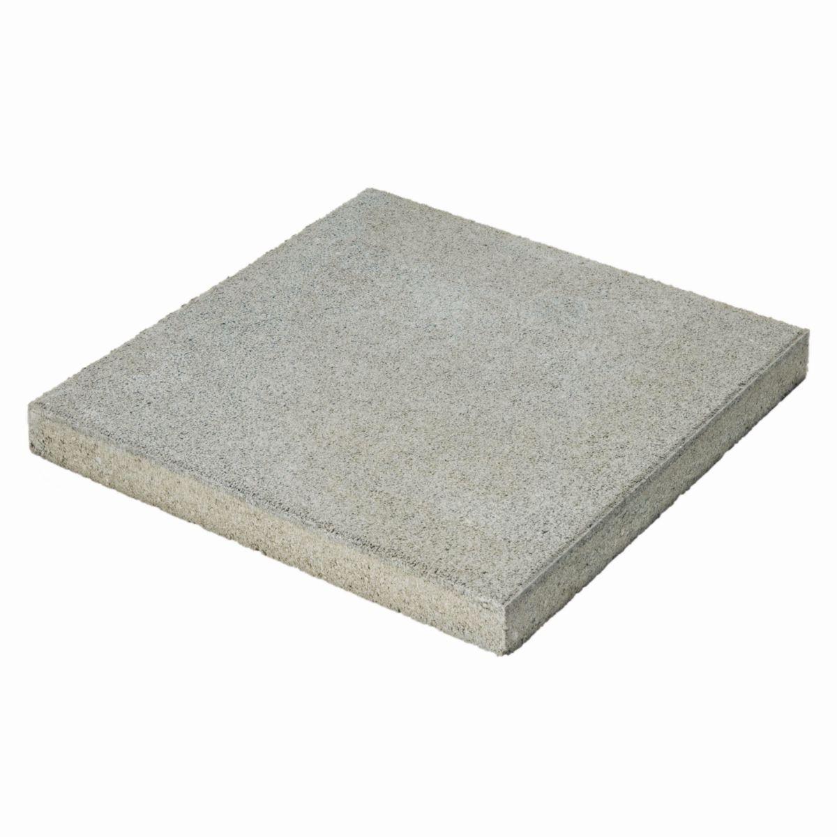 BIRKENMEIER - Dalle béton lisse - gris - 9x9 cm - ép 9,9 cm