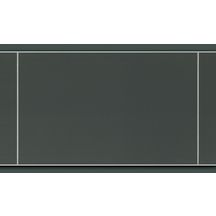 Lambris PVC imitation carrelage décor gris satiné 10x250x1200 mm