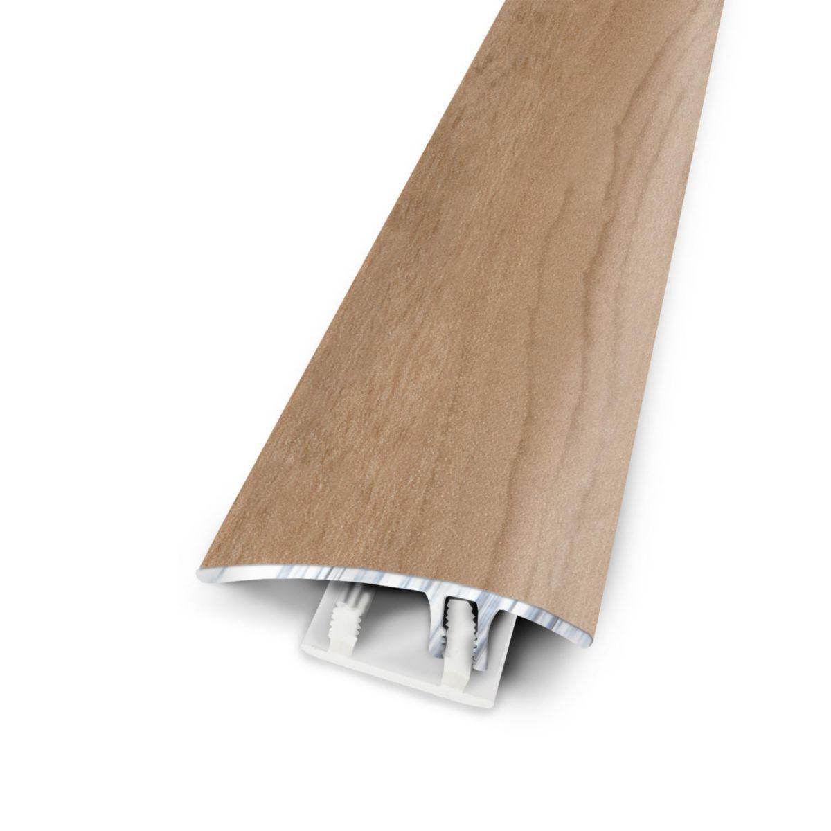 barre de seuil aluminium coordonnée sol stratifié chêne shannon ... - Seuil De Porte Parquet