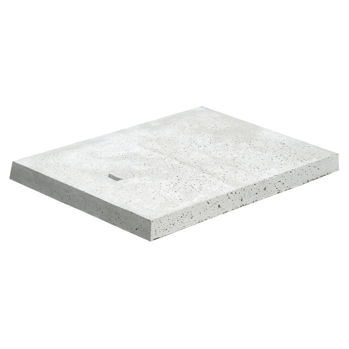 Incroyable FABEMI - Couvercle pour niche de compteur d'eau 60x40 cm - béton SJ-67