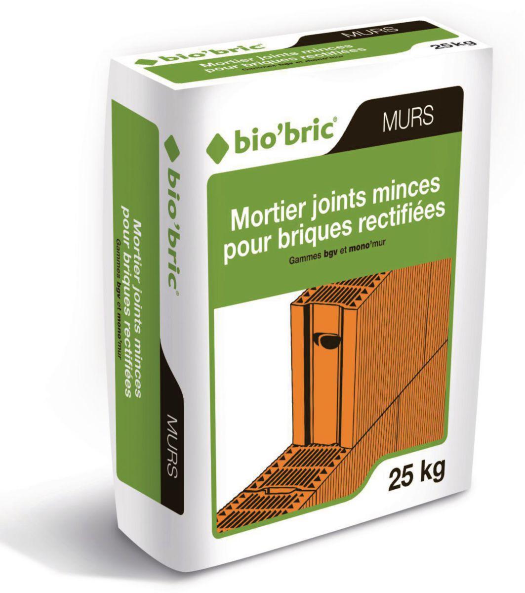 Bio Bric Mortier Joints Minces Bgv Et Monomur Sac De 25