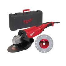 Meuleuse Ø 125 mm Milwaukee AG 22-230 D-SET 2200 W