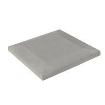 chapeau de pilier plat demi pente b ton 49x49 cm p 3 4 5 3 cm gianre et gaillard. Black Bedroom Furniture Sets. Home Design Ideas