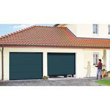 porte de garage sectionnelle europro 42 20 sabl gris anthracite avec moteur europro 700. Black Bedroom Furniture Sets. Home Design Ideas