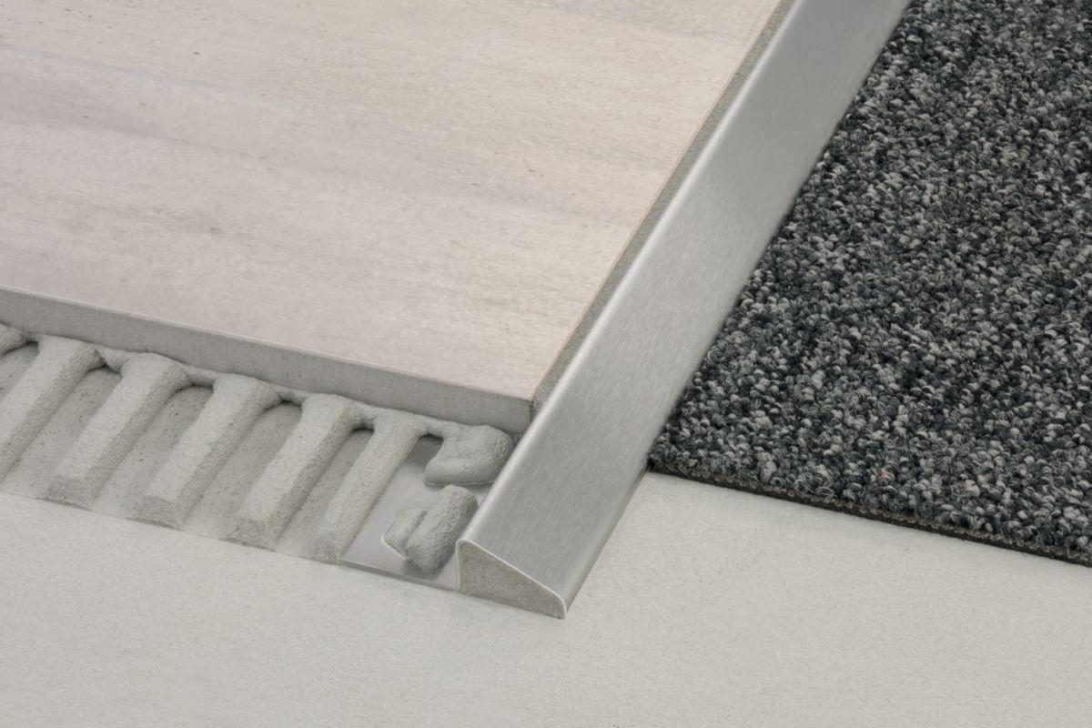 SCHLUTER SYSTEMS - Profilé de sol Schlüter®-RENO-AU alumium - H