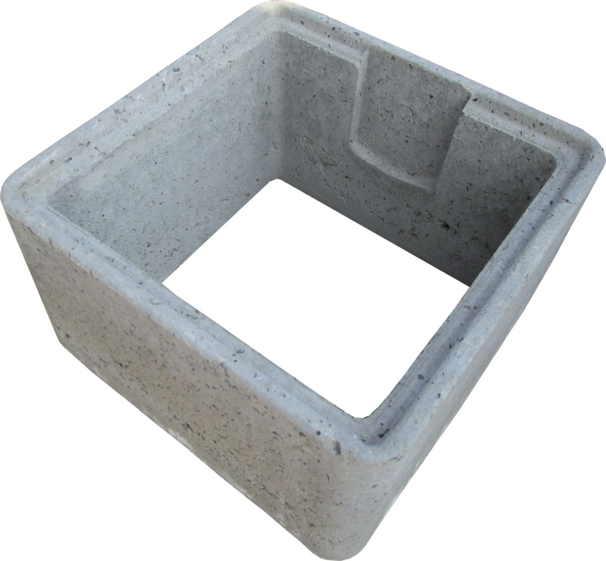 Dufour delattre rehausse embo tement rh 50 pour regard - Rehausse chambre de visite beton ...
