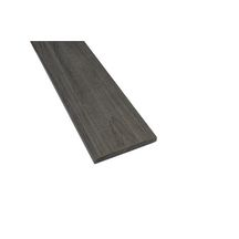 Profil de finition pour lame de terrasse Patio - bois composite - 84x10 mm - L. 2,4 m