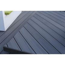 lame de terrasse bois composite co extrud patio gris l 3