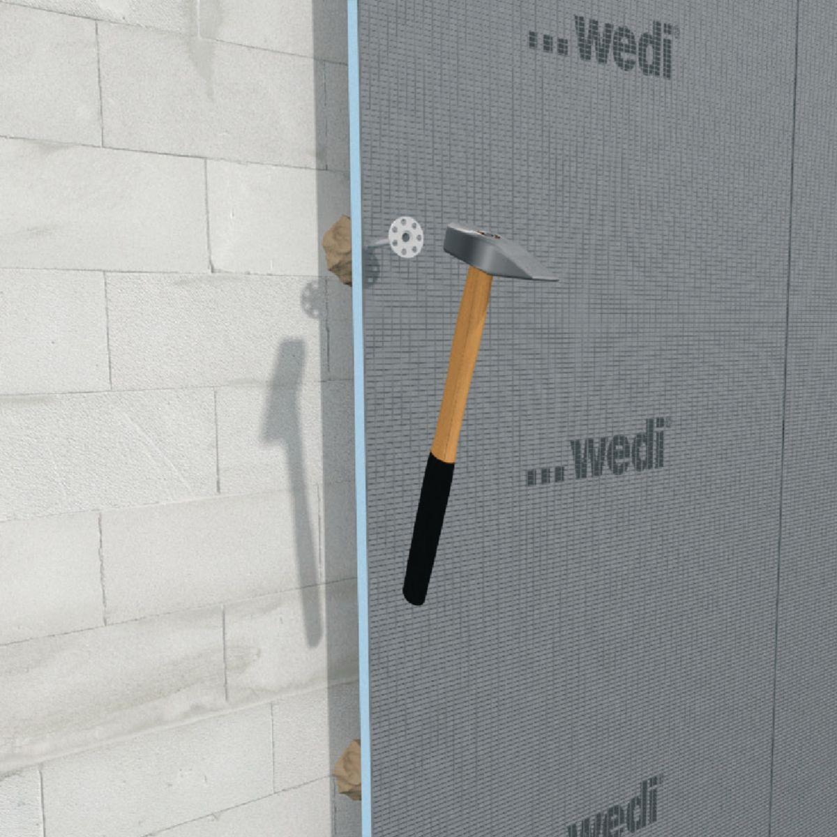 WEDI - Panneau de construction wedi standard - polystyrène extrudé