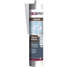 Mastic silicone b�timent gris Deltapro cartouche 300 ml