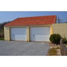 Porte de garage sectionnelle iso20 double paroi sans for Porte de garage tubauto point p