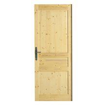 Portes seules nues massives portes seules menuiseries for Porte 204x83