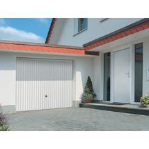 Porte de garage basculante d bordante europro motif 122 for Porte de garage tubauto point p