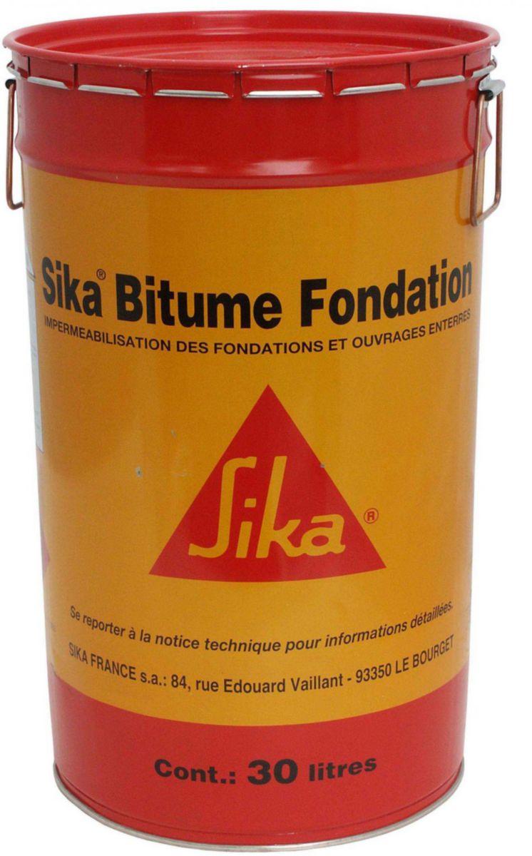 Goudron pour fondation