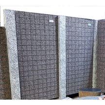 panneau gabion m tal gris 90x180x4cm sonomuro. Black Bedroom Furniture Sets. Home Design Ideas
