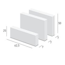 carreau b ton cellulaire profil embo tement caropro cxe 50 ytong 625x70x500 mm ytong. Black Bedroom Furniture Sets. Home Design Ideas