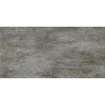 Carrelage mural fa ence venezia gris fonc satin 30x60 cm for Carrelage 30x60 gris