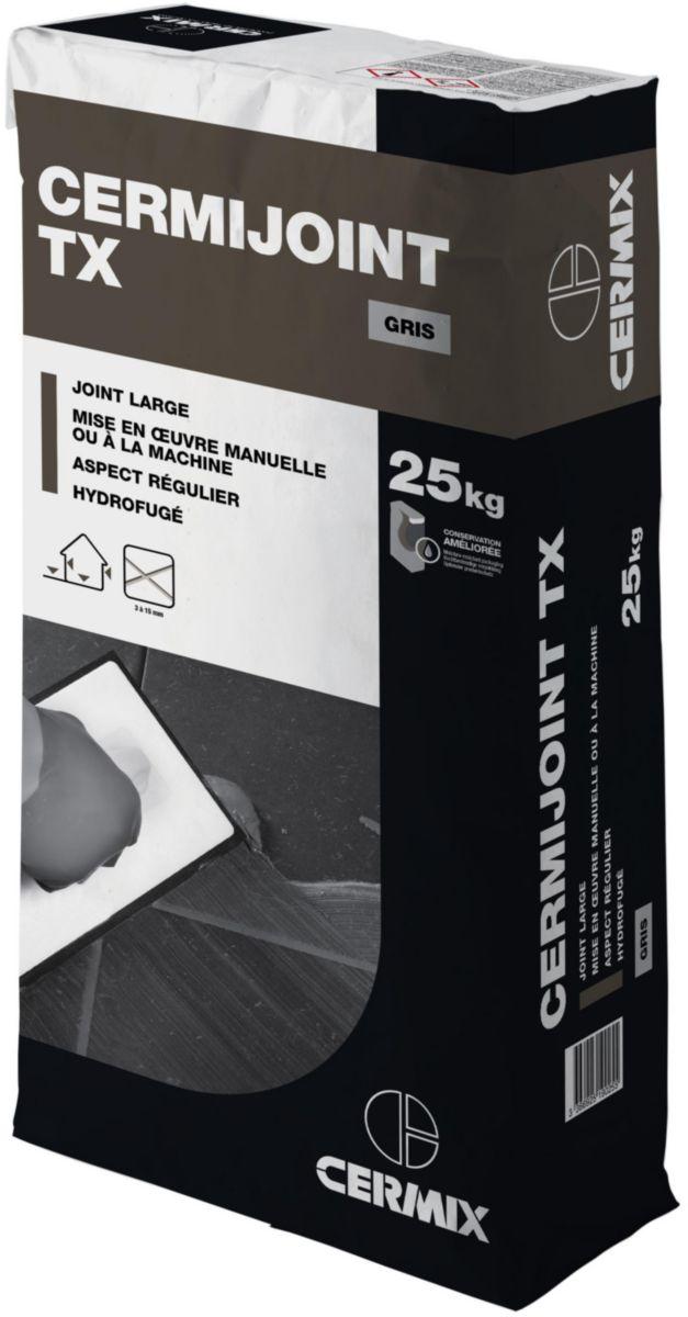 cermix mortier joint carrelage cermijoint tx gris moyen. Black Bedroom Furniture Sets. Home Design Ideas