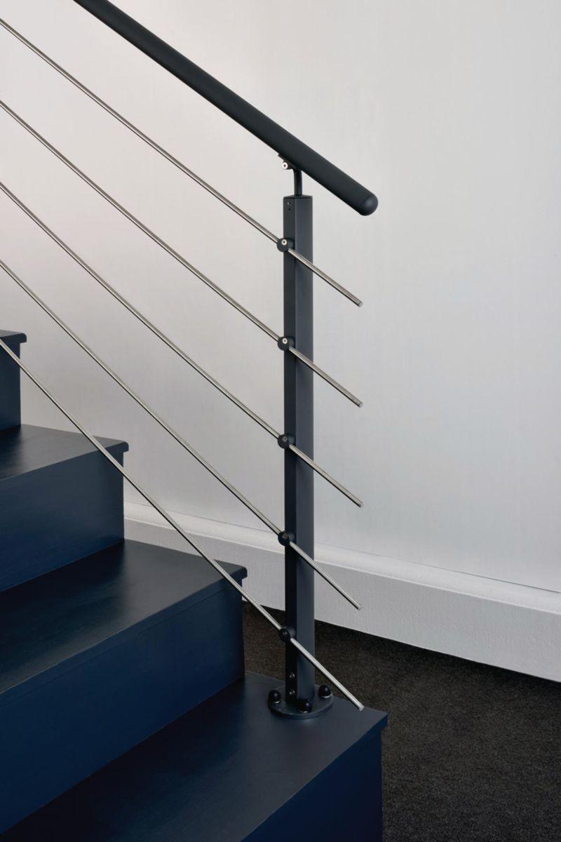 inoline garde corps good kit balustrade inoline black castorama ud kit balustrade escalier with. Black Bedroom Furniture Sets. Home Design Ideas