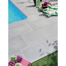 margelle droite plate sol ext rieur pierre reconstitu e rustique bull e ton gris 50x33 cm p 3. Black Bedroom Furniture Sets. Home Design Ideas
