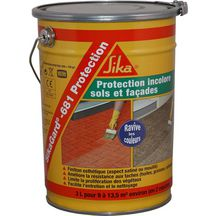 Protection sol b�ton /dalle / pav�s Sikagard 681 Protection incolore - seau 3 l<br>