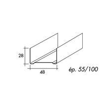rail r 48 l 3 m spp pl tre isolation ite distributeur de mat riaux de construction. Black Bedroom Furniture Sets. Home Design Ideas