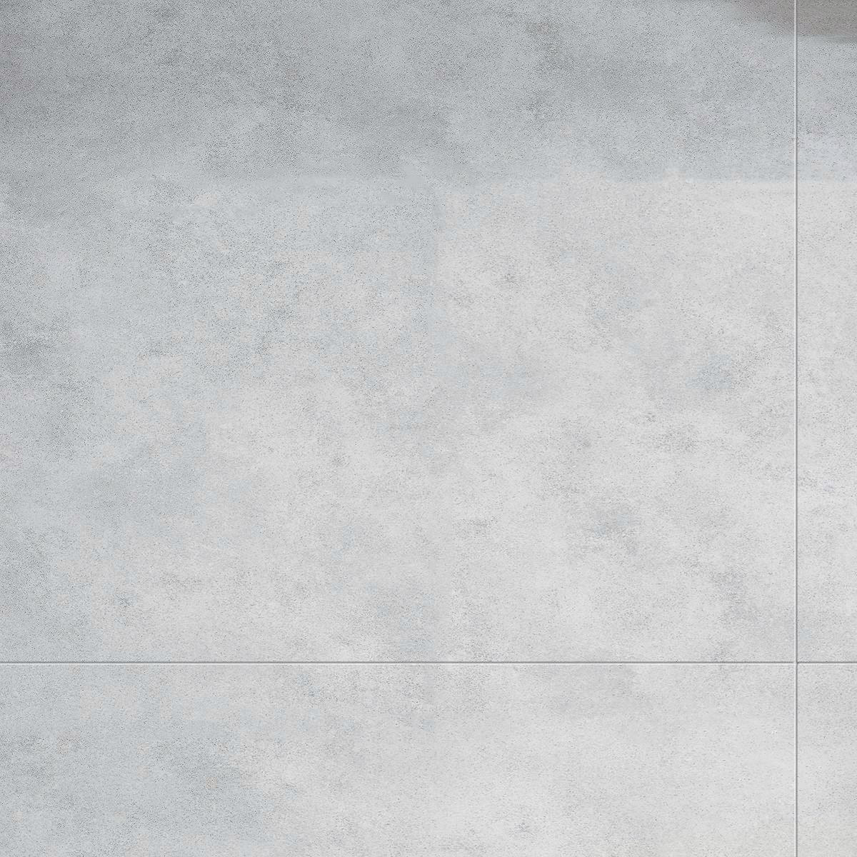 Arte Home Dalle Murale Pvc Imitation Carrelage Gris Clair Light Cement 37 5x65 Cm Point P